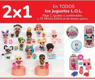 Oferta de En TODOS los juguetes L.O.L. por