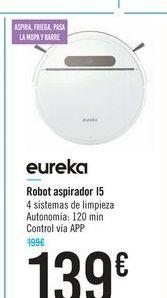 Oferta de Robot aspirador I5 Eureka por 139€