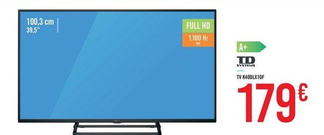 Oferta de TV K40DLX10F por 179€