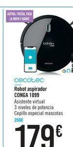 Oferta de Robot aspirador Robot aspirador I5 CONGA 1099 por 179€