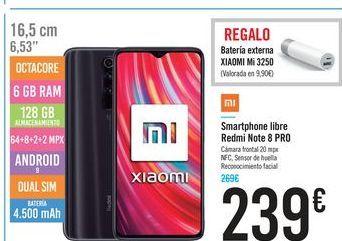 Oferta de Smartphones libre Redmi Note 8 Pro por 239€