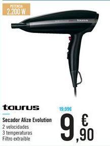 Oferta de Secador Alize Evolution Taurus por 9,9€