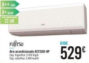 Oferta de Aire acondicionado ASY35UI-KP FUJITSU por 529€