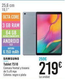 Oferta de Tablet T510 SAMSUNG por 219€
