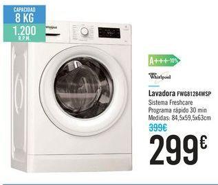 Oferta de Lavadora FWG81284WSP por 299€