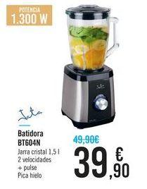 Oferta de Batidora de Vaso Jata BT604N por 39,9€