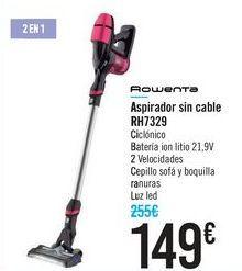 Oferta de Aspirador sin cable Rowenta RH7329 por 149€