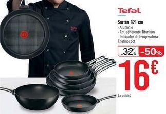 Oferta de Sartén Tefal  por 16€