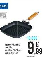 Oferta de Asador aluminio fundido  por 9,99€