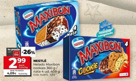Oferta de Helado sandwich Maxibon por 2,99€