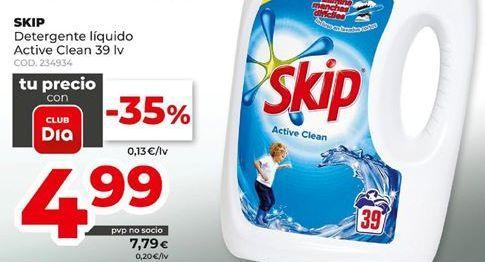 Oferta de Detergente líquido Skip por 4,99€