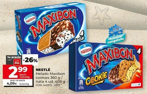 Oferta de Helados Nestlé por 2,99€