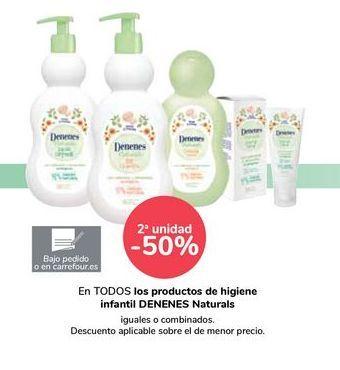 Oferta de En TODOS los productos de higiene infantil DENENES Naturals por