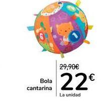 Oferta de Bola cantarina  por 22€