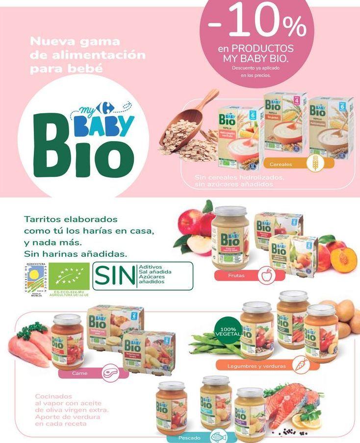 Oferta de En productos My baby BIO por