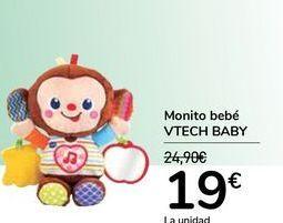 Oferta de Monito bebé VTECH BABY  por 19€