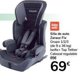 Oferta de Silla de auto Zarauz por 69€
