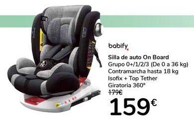 Oferta de Silla de auto On Board por 159€