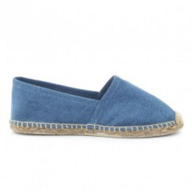 Oferta de Alpargata denim washed COCONUT DRIVE por 9,99€