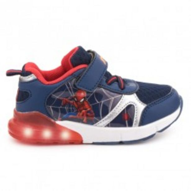 Oferta de Sneaker luces azul SPIDERMAN por 9,99€
