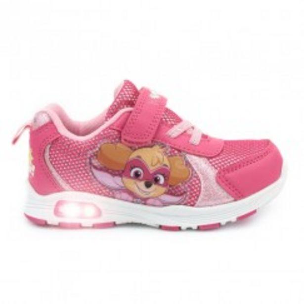 Oferta de Sneaker rosa luces PATRULLA CANINA por 12,99€