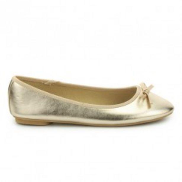 Oferta de Bailarina oro OH GIRL por 5,99€