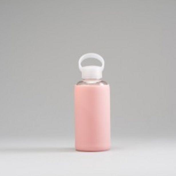 Oferta de Botella vidrio rosa MKL por 6,99€