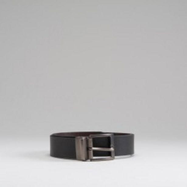 Oferta de Cinturón hebilla reversible MKL por 7,99€