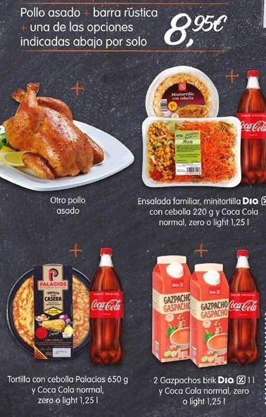 Oferta de Pollo asado por 8,95€