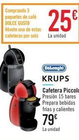 Oferta de Cafetera Piccolo por 79€