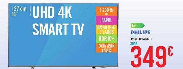Oferta de TV 50PUS6754/12 por 349€