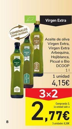 Oferta de Aceite de oliva Virgen Extra, Virgen Extra Arbequina, Hojiblanca, Picual o Bio DCOOP por 4,15€