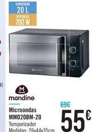 Oferta de Microondas MMO20BM-20 por 55€