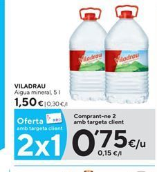 Oferta de Agua Viladrau por 0,75€