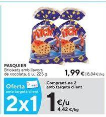 Oferta de Bollería Pasquier por 1€