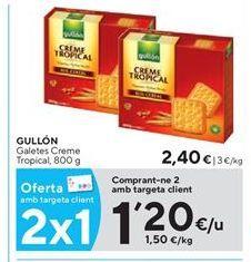 Oferta de Galletas Gullón por 1,2€