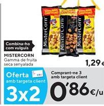 Oferta de Cóctel de aperitivos MisterCorn por 0,86€