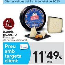 Oferta de Queso García Baquero por 11,49€