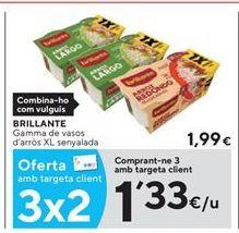 Oferta de Arroz en vasitos Brillante por 1,33€