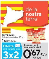 Oferta de Palomitas Frit Ravich por 0,67€