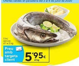 Oferta de Merluza por 5,95€