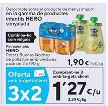 Oferta de Tarritos Hero por 1,27€