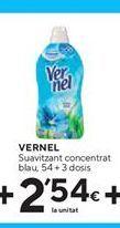 Oferta de Suavizante Vernel por 2,54€
