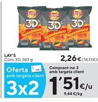 Oferta de Snacks Lay's por 1,51€
