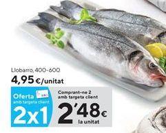 Oferta de Lubina por 2,48€