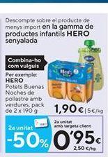 Oferta de Tarritos Hero por 1,9€