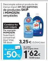 Oferta de Suavizante Mimosín por 3,25€