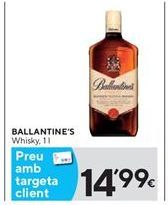 Oferta de Whisky Ballantine's por 14,99€