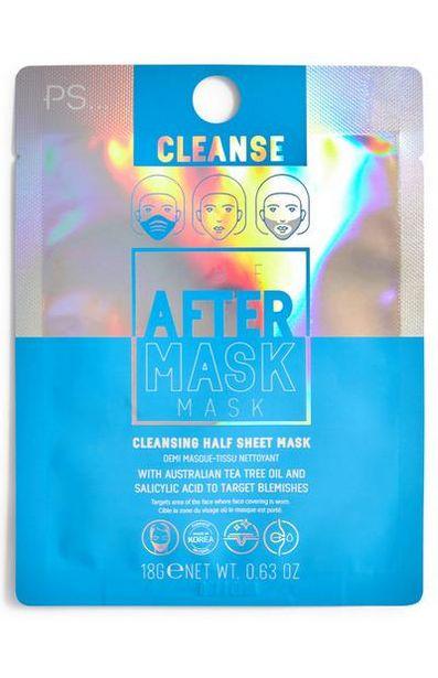 Oferta de Mascarilla limpiadora para después de usar la mascarilla higiénica The After Mask por 0,9€