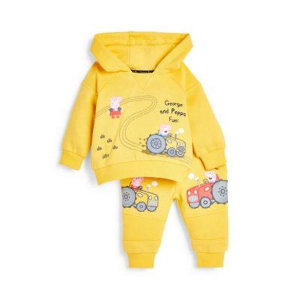 Oferta de Conjunto informal de sudadera con capucha de George de Peppa Pig para bebé niño por 14€